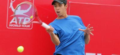 Daniel Galán es el primer tenista santandereano en jugar Copa Davis y será el encargado de abrir hoy la serie de Colombia ante Barbados.