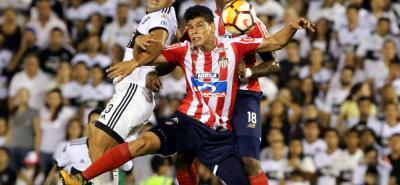 Junior fue el otro equipo colombiano que debutó en la segunda fase de la Copa Libertadores y lo hizo con derrota 1-0 ante Olimpia en el estadio Defensores del Chaco, en Asunción, Paraguay.