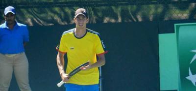 Galán jugaría su segundo partido en Copa Davis el domingo, en caso de ser necesario.