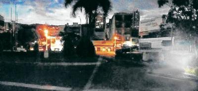 Denuncian problemas de alumbrado público en Bucaramanga
