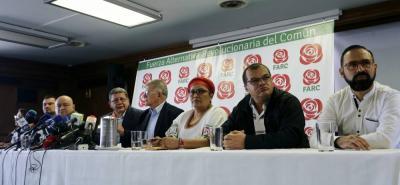 'Pablo Catatumbo' fue el encargado de confirmar la suspensión de la campaña de las Farc, tras las agresiones en su contra ocurridas en Armenia, Florencia y Cali.