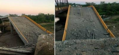 Declaran urgencia para reconstruir puente que comunica a Bucaramanga con la Costa