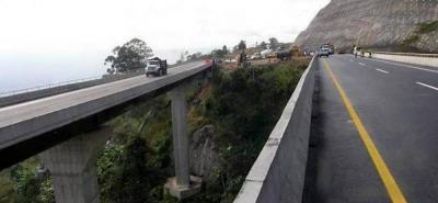 Obras de la vía 4G entre Bucaramanga y Pamplona se iniciarán este mes