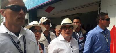 Rodrigo Londoño, candidato presidencial de la Fuerza Alternativa Revolucionaria del Común, Farc, no oculta su sorpresa sobre lo que ocurrió durante la primera y única semana que hizo campaña en la plaza pública.