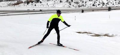 Sebastián Uprimny será el primero de los cuatro colombianos que debutará en los Juegos Olímpicos de Invierno que se cumplen en PyeongChang, Corea del Sur.