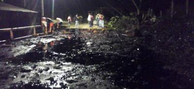 Eln perpetró otro atentado contra oleoducto Caño Limón-Coveñas