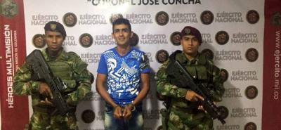 El capturado pertenecería desde hace ocho años a la Compañía Francisco Bossio del Frente de Guerra Nororiental del Eln.