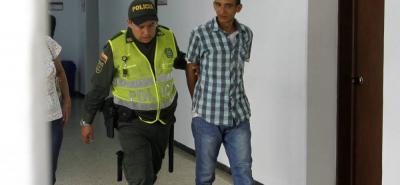 Johan Manuel Vega Zapata, de 36 años, fue enviado a la cárcel luego de atracar con cuchillo a un taxista en Girón.