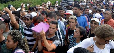 El Grupo Especial Migratorio se encargó del operativo realizado en el departamento de Arauca.