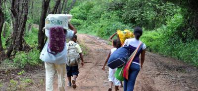 El organismo internacional afirma que al menos 822 personas se han visto afectadas por la violencia.