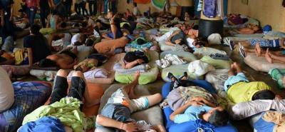 Los problemas de hacinamiento se mantienen en el establecimiento carcelario, con una población cercana a los 3 mil internos en la actualidad.