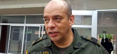 El coronel Pinzón fue removido de su cargo.