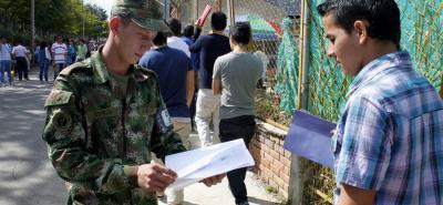 Conozca la aplicación que le ayudará a definir su situación militar