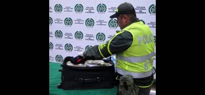 El decomiso lo efectuó la Policía de Carreteras en un puesto de control en la Troncal del Magdalena Medio.