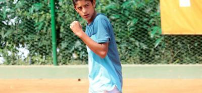 El tenista santandereano Nicolás Niño Mendoza jugará en Brasil las dos últimas paradas de la Gira Cosat, donde espera asegurar su cupo para la Gira Europea.