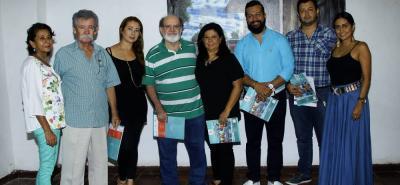 Rosa Barajas de Marín, Jorge Marín, Paola Marín, Mario Gómez, Sol Bohórquez, Cristian Rodríguez, Julián Rodríguez y Alejandra Rodríguez.