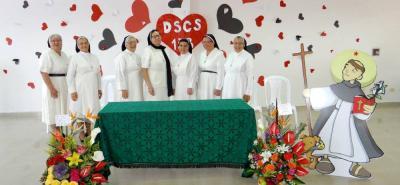 Sor Heny Morales, Sor Carmen Nohemí de La Torre, Sor Constanza Barrera, Sor María Stella Ávila, Sor Nury Aracely Rivera Fernández, Sor Lucila Delgadillo y Sor Margarita Márquez.