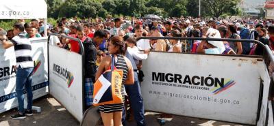 De un promedio diario de ingresos de aproximadamente 48 mil ciudadanos venezolanos se pasó a cerca de 35 mil.