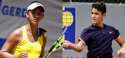 Dos santandereanos jugarán Gira Europea de Tenis
