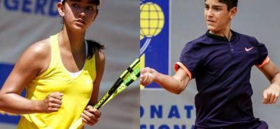 Los tenistas santandereanos Valeria Carreño y Nicolás Niño se clasificaron a la Gira Europea de Tenis en categoría de 14 años, al terminar entre los seis primeros en el escalafón de la Gira Cosat, Confederación Suramericana de Tenis, que finalizó en febrero pasado en Porto Alegre, Brasil.