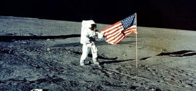 Las misiones Apolo de la Nasa son las que más objetos han abandonado en la Luna.