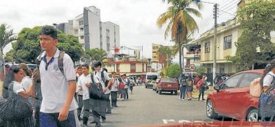 Alertan peligro para estudiantes en Bucaramanga