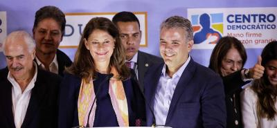 Marta Lucía Ramírez le pide a los Conservadores unirse a Iván Duque