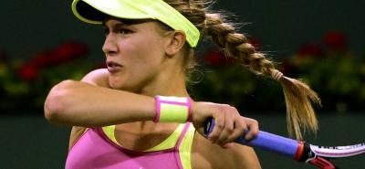 La tenista canadiense Eugenie Bouchard, quien llegó a ser número 5 del tenis mundial, será una de las figuras en el Claro Colsánitas WTA de Tenis que se juega en Bogotá.