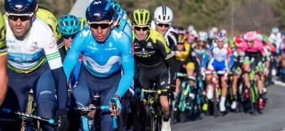 El colombiano Nairo Quintana buscó la victoria en la tercera etapa de la Vuelta a Cataluña.