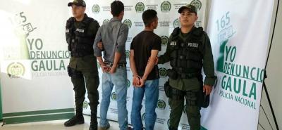 Exsenover Quintero Nieto y Jorge Torres Rodríguez deberán responder por el delito de extorsión.