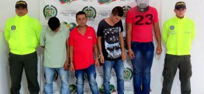 Una banda dedicado al microtráfico en Santa Rosa y su área de influencia fue desvertebrada por la Policía en esa zona del sur de Bolívar.