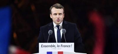 """Macron no ofreció un """"balance oficial"""" de los heridos o víctimas."""