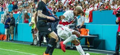 Perú, que volverá a un Mundial de fútbol después de 36 años, jugó en la noche del pasado viernes ante Croacia, a la que derrotó por 2-0 en Miami.
