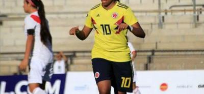 La joven y talentosa jugadora valduparense Maireth Pérez Ramírez fue la máxima artillera del Suramericano sub 17 que terminó ayer en Argentina. Su próximo reto, el mundial de Uruguay.
