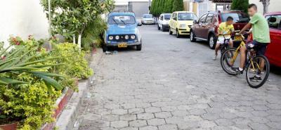 La riña se registró en la calle 104F con carrera 16A del barrio El Rocío de Bucaramanga.