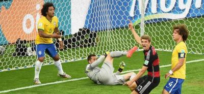 Brasil y Alemania reviven la semifinal del Mundial 2014, cuando los europeos ganaron 7-1.