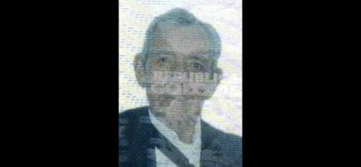 Pedro Blanco, de 82 años, era oriundo de Boavita, Boyacá.