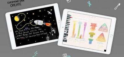 Apple lanzó iPad compatible con lápiz digital a precio reducido para escuelas