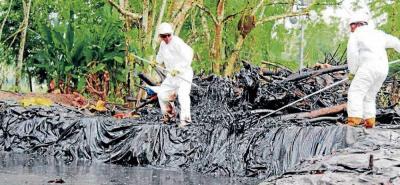 Conozca qué actividades está realizando Ecopetrol para atender la emergencia ambiental.