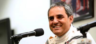 Al colombiano sólo le falta añadir una victoria en esta carrera para completar la triple corona del automovilismo.