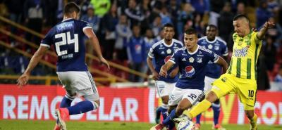 Bucaramanga cae 0-4 frente a Millonarios en la fecha 12 de la Liga Águila