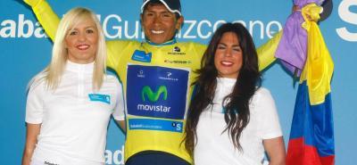 Nairo Quintana es el único colombiano que ha logrado coronarse campeón de la Vuelta al País Vasco, ganó en 2013, prueba en la que compartirá galones de jefe de filas del Movistar con el español Mikel Landa.