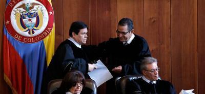 Magistrado Malo se presenta en la Corte Suprema