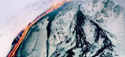 Volcán Etna se está desplazando hacia el mar