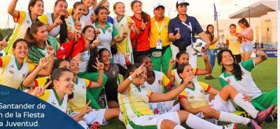 La selección Santander infantil derrotó 2-0 a Guaraní de Paraguay en la final de la Copa Conmebol categoría Sub-14 femenina y se quedó con la corona continental.