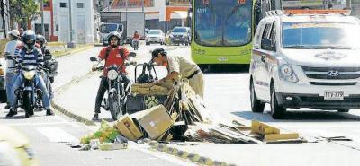 Llamado a los recicladores en Bucaramanga
