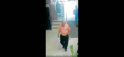 Las autoridades ya tienen plenamente identificados a los dos hombres que hurtaron en la Secretaría de Educación.