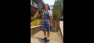 La estudiante de noveno grado del colegio Integrado Los Santos basó su propuesta en no callar frente al acoso escolar.
