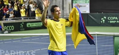 Liderada por el santandereano Daniel Galán, Colombia venció 3-2 a Brasil en la Copa Davis