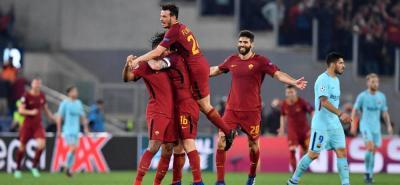 Roma logró lo impensado por muchos: eliminar al Barcelona de la Liga de Campeones, tras ir perdiendo la serie por 4-1, pero en un brillante partido los italianos lograron una épica remontada al ganar 3-0 a un desdibujado conjunto catalán que se quedó en cuartos por tercer año seguido.